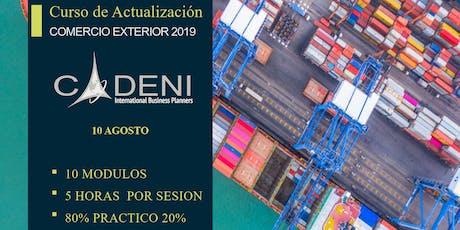 Curso de Actualización en Comercio Exterior 2019 entradas