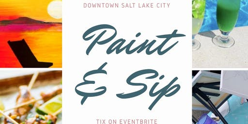 Summertime Paint & Sip!