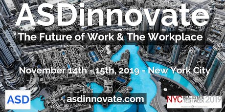 ASDinnovate - The Future of Work & The Workplace tickets