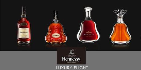 The Hennessy Luxury Flight tickets