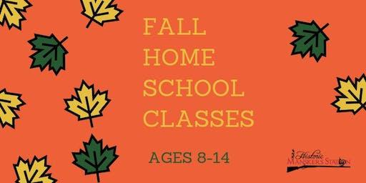 Homeschool Program:  Fall Weenie Roast