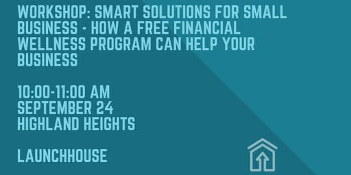 Smart Solutions for Small Businesses: How a free financial wellness program can help your business
