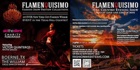 Flamenquisimo - Fashion Event in Boerne, TX - Benefiting Aid The Silent tickets