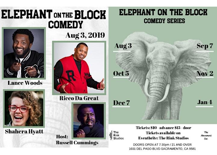 Elephant on the Block image