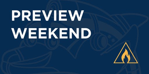 ASMSA Preview Weekend - Friday November 1 - Saturday November 2, 2019