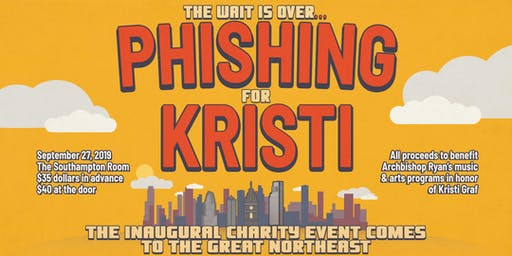 First Annual Phishing for Kristi Fundraising Gala