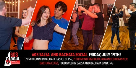 603 Salsa and Bachata Social | Friday, July 19 tickets
