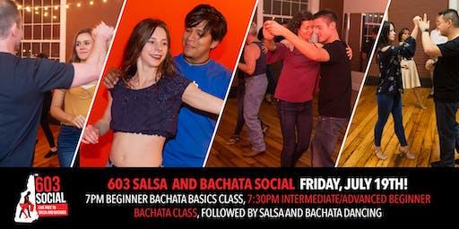 603 Salsa and Bachata Social   Friday, July 19