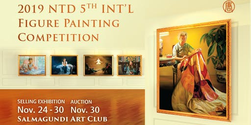 The Selling Exhibition& Auction of NTD 5th In'l Figure Painting Competition