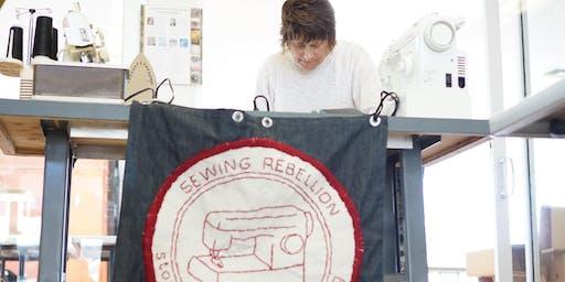 Frau Fiber's Sewing Rebellion: Motifs & Migrations