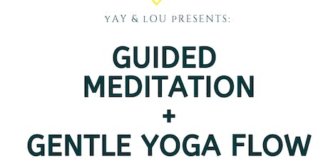 Guided Meditation and Yoga tickets