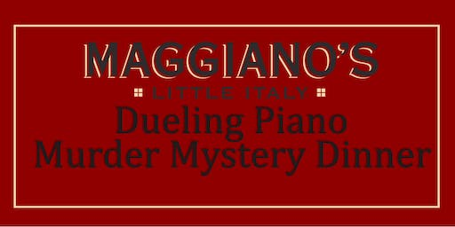 Dueling Piano Murder Mystery Dinner