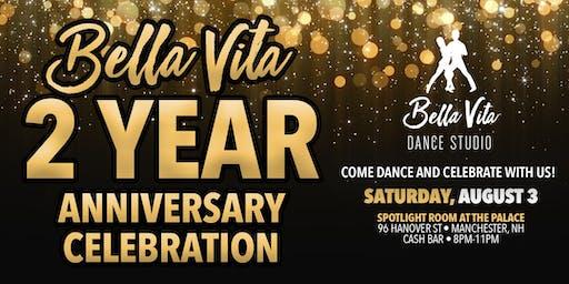 Bella Vita Dance Studio 2 Year Anniversary Celebration | Salsa, Bachata, Latin Dancing