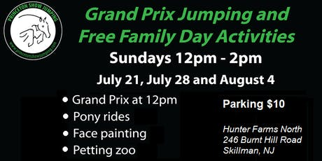Grand Prix Jumping & FREE Family Day Activities @ Princeton Show Jumping! tickets