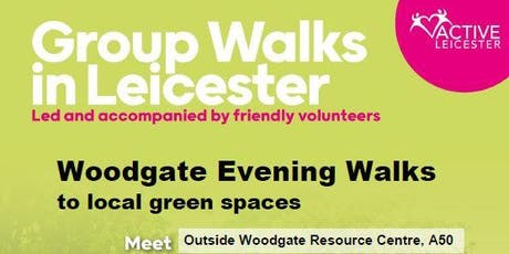 Evening Walks: Woodgate to local green spaces tickets