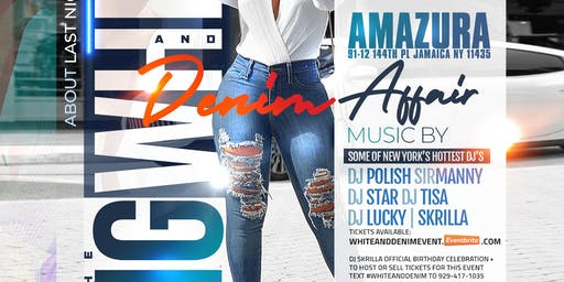 WHITE AND DENIM AFFAIR AT AMAZURA MEGA CLUB