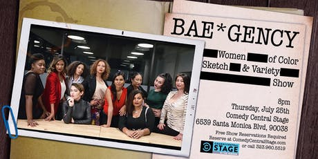 The BAE*gency: All Women of Color. All Comedy.  tickets