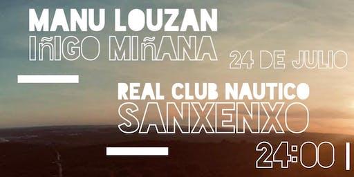 Concierto Manu Louzán & Iñigo Miñana en el Real Club Nautico de Sanxenxo
