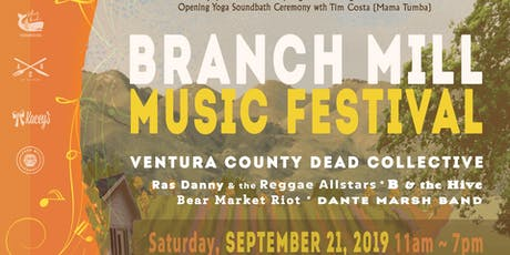 1st annual Branch Mill Music Festival tickets