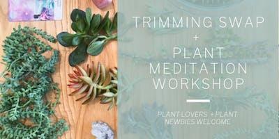 Trimming Swap + Plant Meditation Workshop