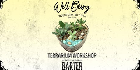 Love Vessel Succulent Terrarium Workshop tickets