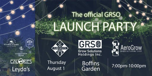 GRSO - Corporate Launch Event
