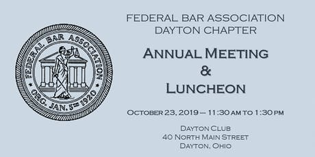 FBA Dayton Chapter - Annual Meeting & Luncheon tickets