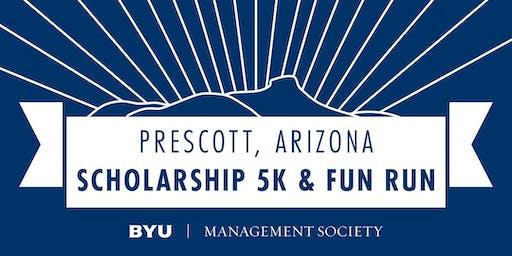 BYUMS Prescott Chapter's Labor Day Scholarship Run