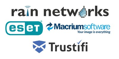 Rain Networks Security Day Presented by ESET, Macrium, and Trustifi