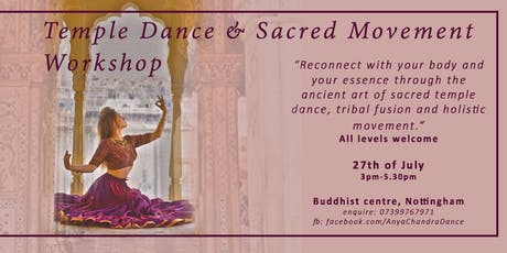 Sacred Movement and Tribal Dance Workshop tickets