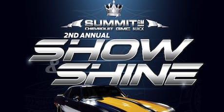 Summit GM  Annual Show & Shine tickets