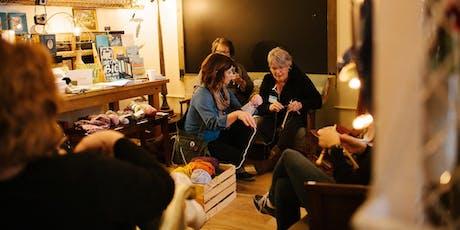 Knit Night with Sarah Van Frank tickets