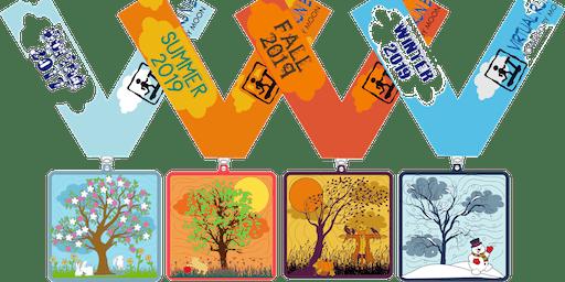 2019 Four Seasons, Four Miles - Spring, Summer, Autumn and Winter - Arlington