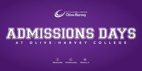 Admissions Days at Olive-Harvey College tickets