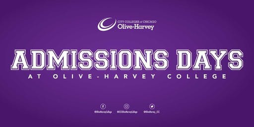 Admissions Days at Olive-Harvey College