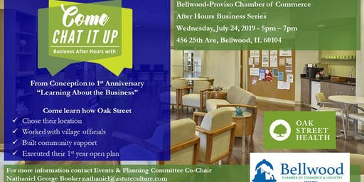Bellwood-Proviso Chamber of Commerce After Hours Business Series