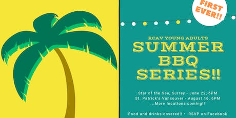 Young Adults Summer BBQ Series @ St. Pat's Vancouver tickets