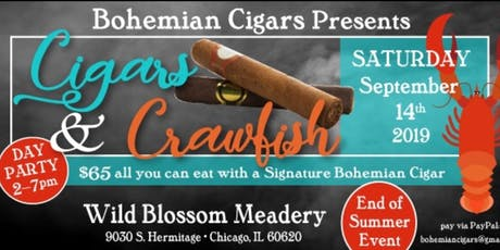 Cigars & Crawfish tickets