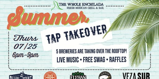 Summer Tap Takeover • The Whole Enchilada Winter Garden