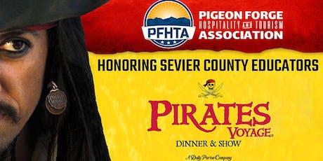 """Honoring Sevier County Educators"" - August PFHTA Membership Meeting  tickets"