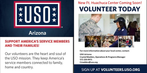 Fort Huachuca Prospective Volunteer Orientation