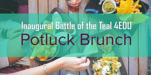 Inaugural Battle of the Teal Potluck Brunch