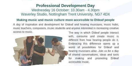 Deaf People Do Music Differently tickets