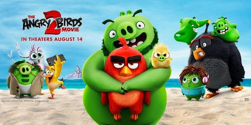 Virgin MiamiCentral: Celebrate The Angry Birds Movie 2