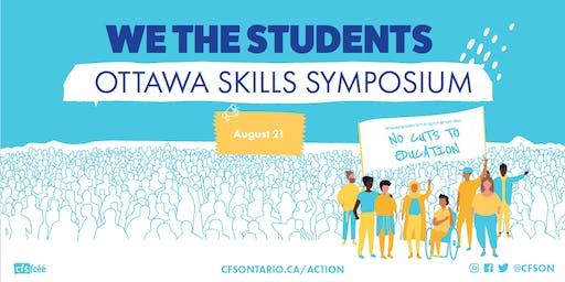 #WeTheStudents: Ottawa Skills Symposium / Symposium de perfectionnement des compétences #Nouslesétudiant.e.s