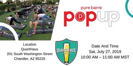 QuartHaus - Downtown Chandler Pop-up tickets
