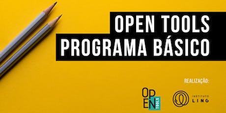 Open Tools - Programa Básico ingressos