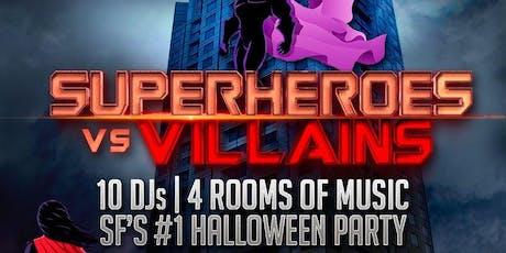 W San Francisco Halloween - Superheroes vs. Villains tickets
