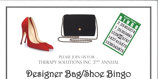 2nd Annual Therapy Solutions, Inc. Designer Bag & Shoe Bingo