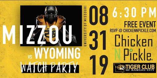 Mizzou V Wyoming Watch Party